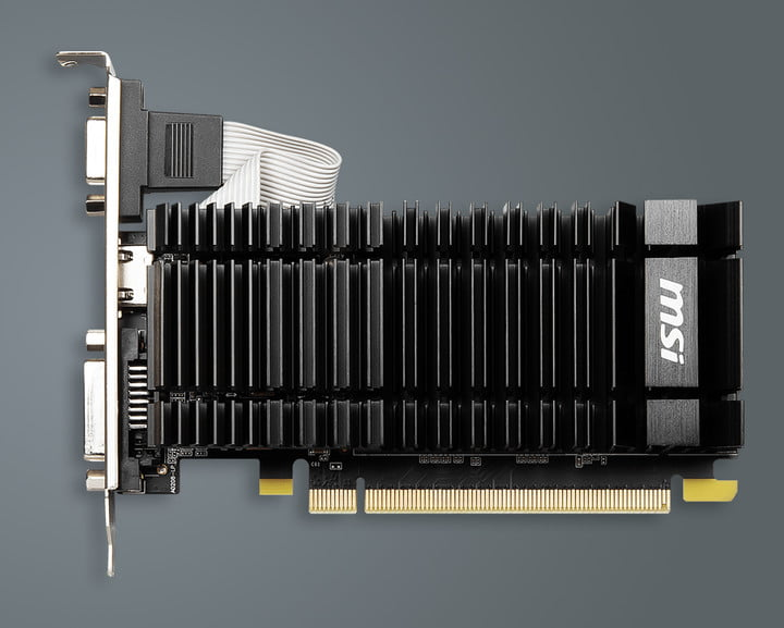 MSI's reintroduced GT 730, a seven-year-old GPU.