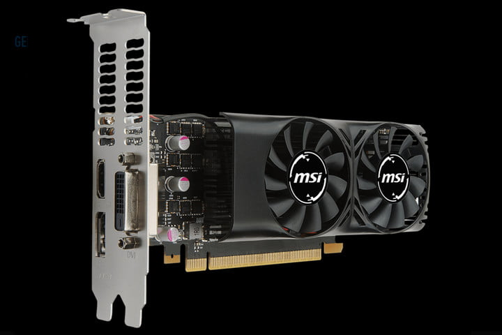 msi gtx 1050 new low profile compact cards geforce 2gt lp