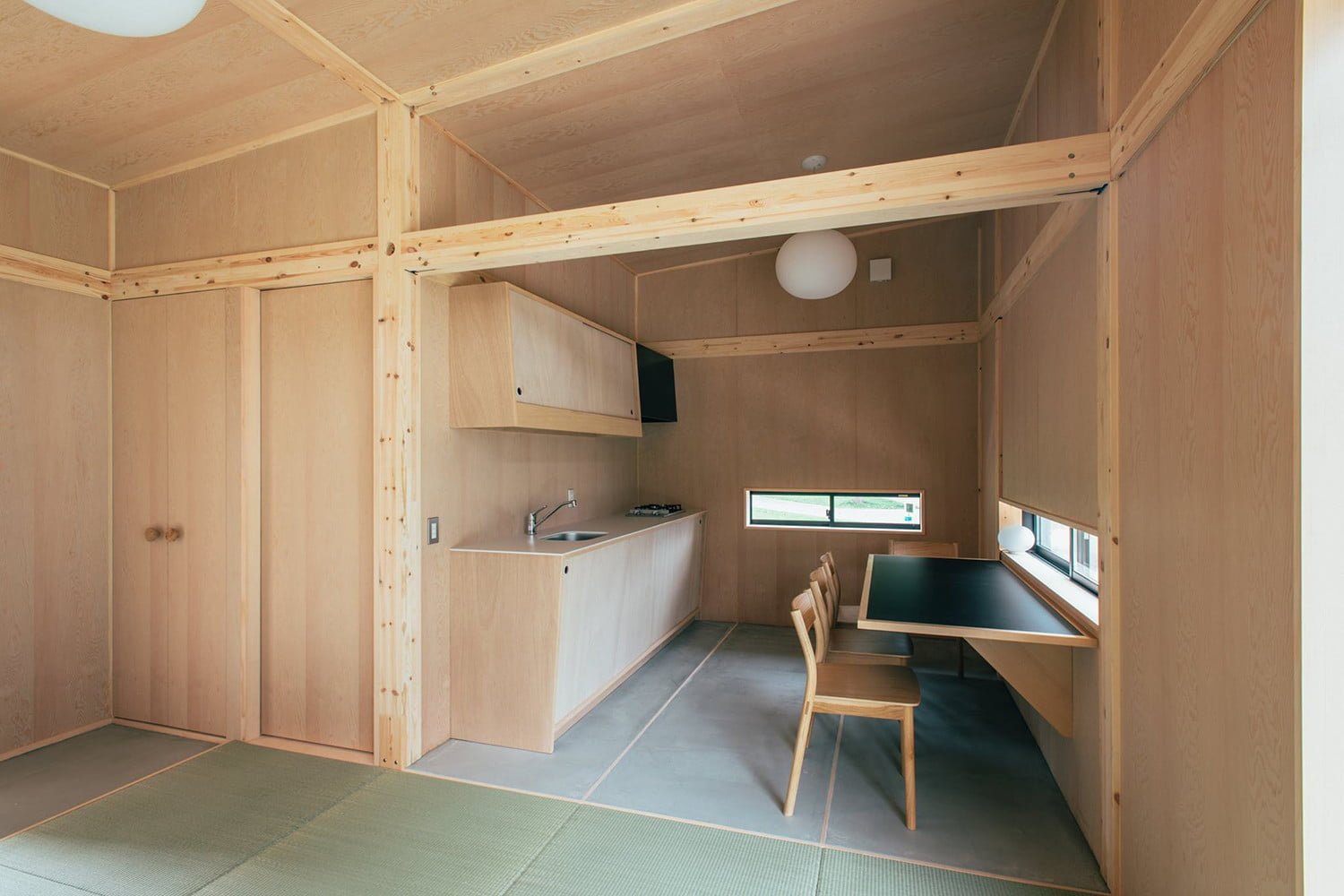the muji hut is a micro home made for japan of cork 04