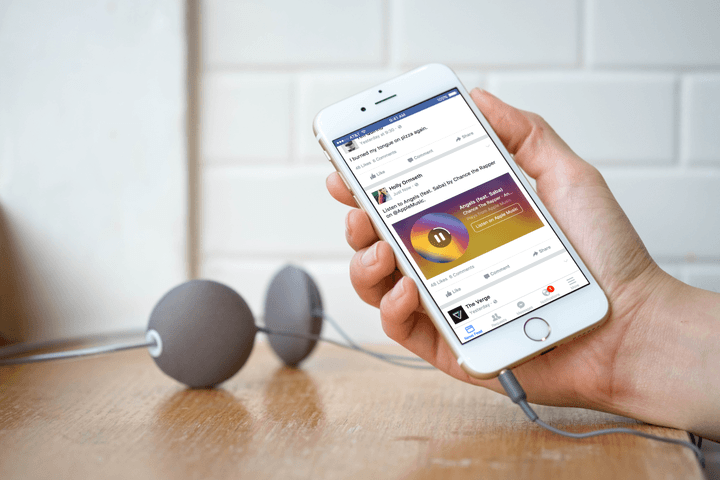 facebook music stories adds more services listen scroll