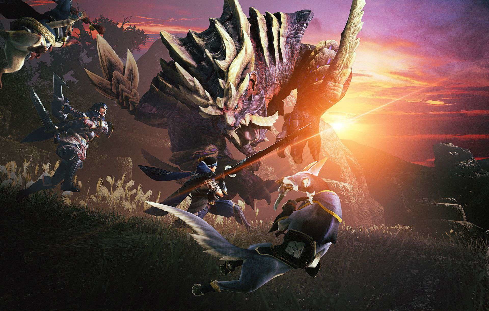 Monster Hunter Rise can finally begin now that its story is over