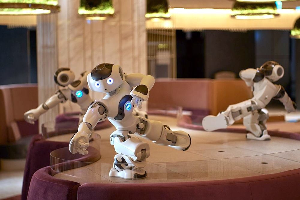 softbank enters the cafe business with new robot filled pepper parlor nao