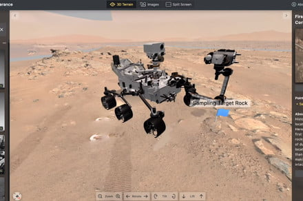 NASA's interactive Mars experience lets you work with its rover