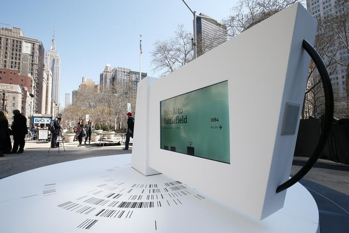 national park service unveils digital traveling kiosk to promote its 100 years find your