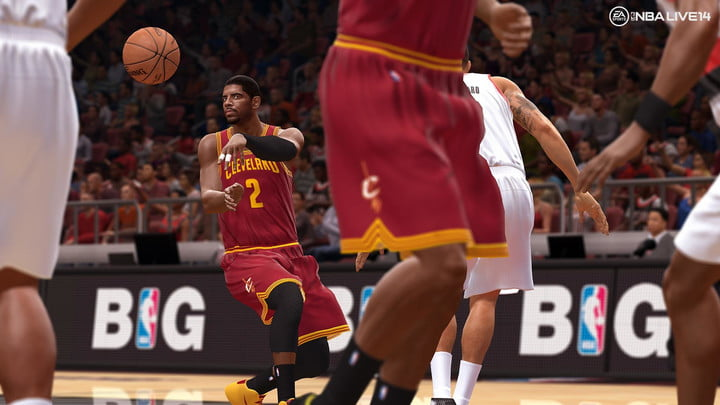 nba live 14 preview nbalive14 ps4 kyrie irving pass