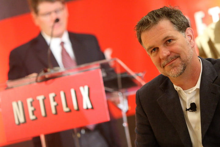 hbo rides high netflix stock takes nose dive ceo hastings