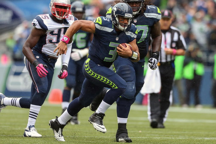 New England Patriots v Seattle Seahawks Russell Wilson