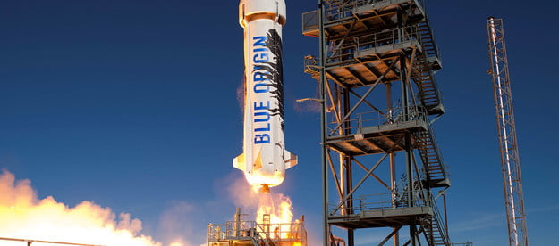 as billionaires ogle mars the space race is back on new shepard 2