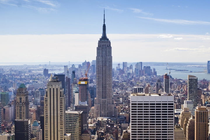 free wi fi nyc harlem bloomberg wireless announcement may 2014 release new york skyline 0