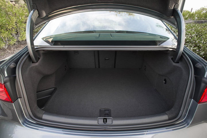 if you live in munich and own an audi youll be able to get amazon deliveries your trunk news 2015 a3 sedan interior detail 01
