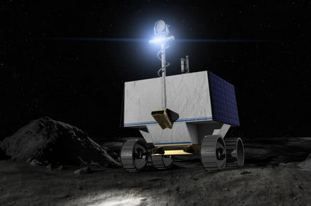 NASA reveals landing site for its water-hunting lunar rover