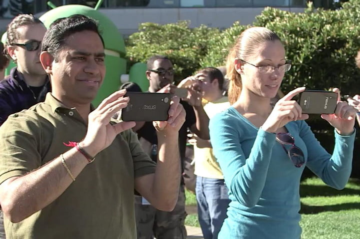 google pulls video after nexus 5 spotted maybe 2