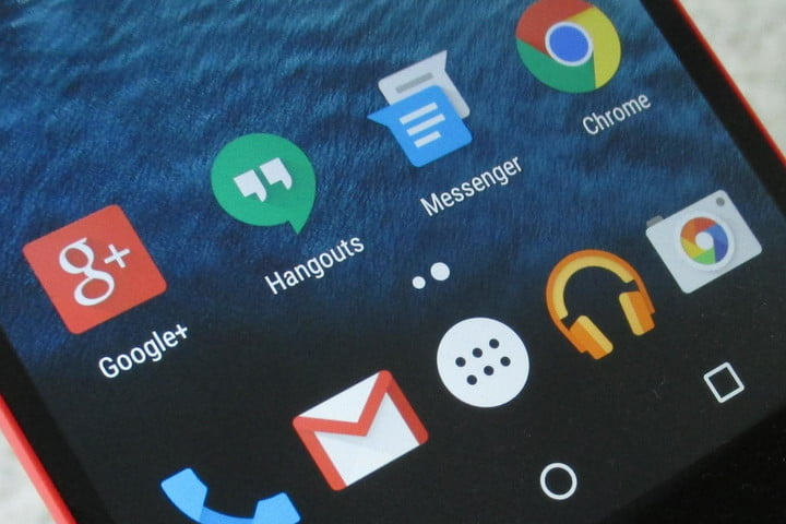 hangouts loses sms support nexus 5 google messenger icons