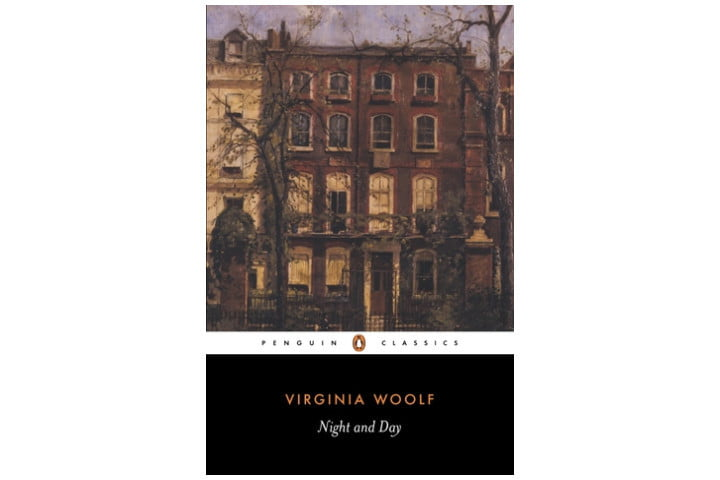 Photo shows a Penguin Classics book cover with a picture of the front of a row of old houses, with the title at the bottom and the author's name below it