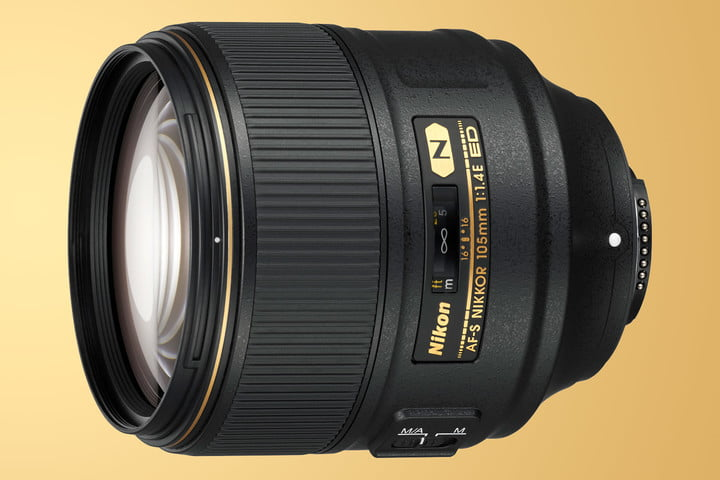 nikon 105mm f14 tested f1 4 on gold
