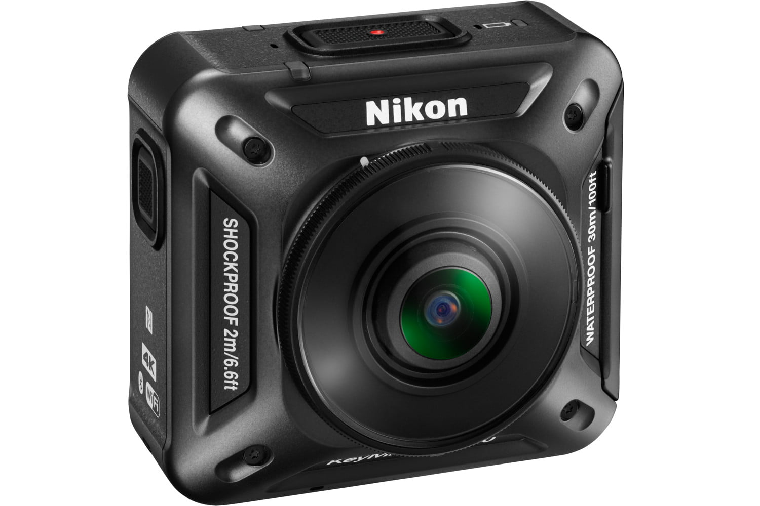 nikon keymission 170 80 action cam keymission360 front right