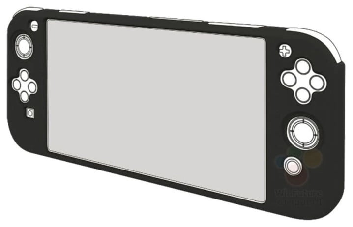 Nintendo Switch Mini new console 3DS manufacturing production accessory concept image picture