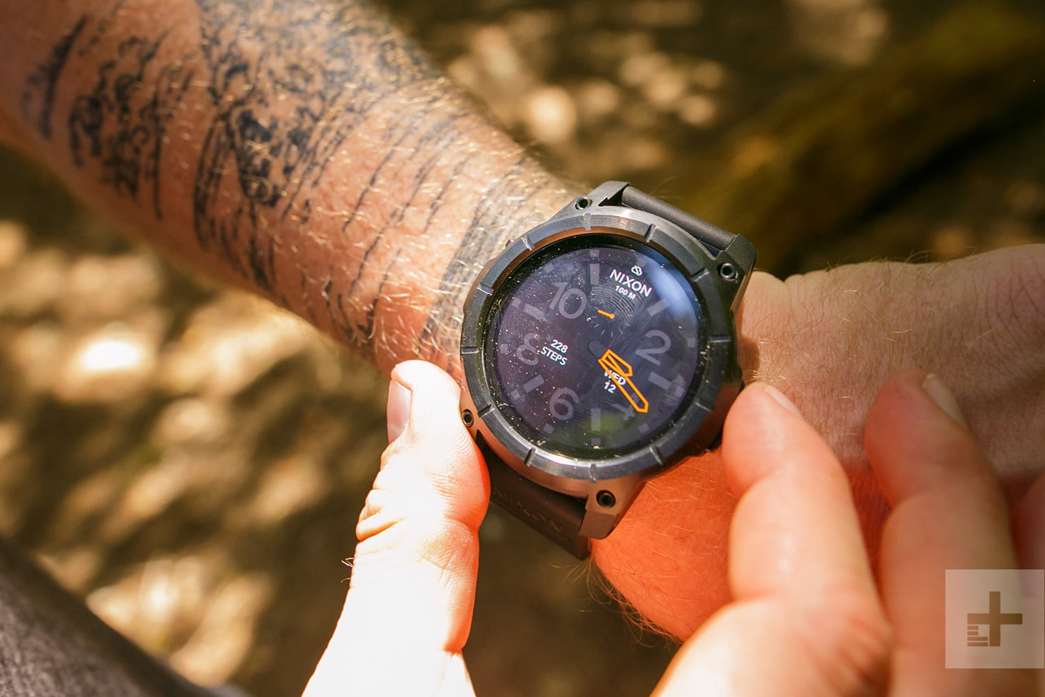 Nixon Mission Watch Outdoor Awards face