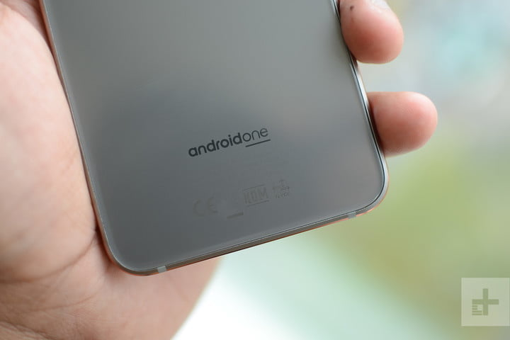 Nokia 7.1 back bottom android one