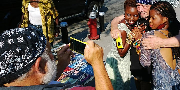 photographers david bailey and bruce weber use nokia lumia 1020 to collaborate on project 1