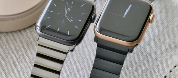 nomad titanium steel band apple watch hands on photos price release date and bands