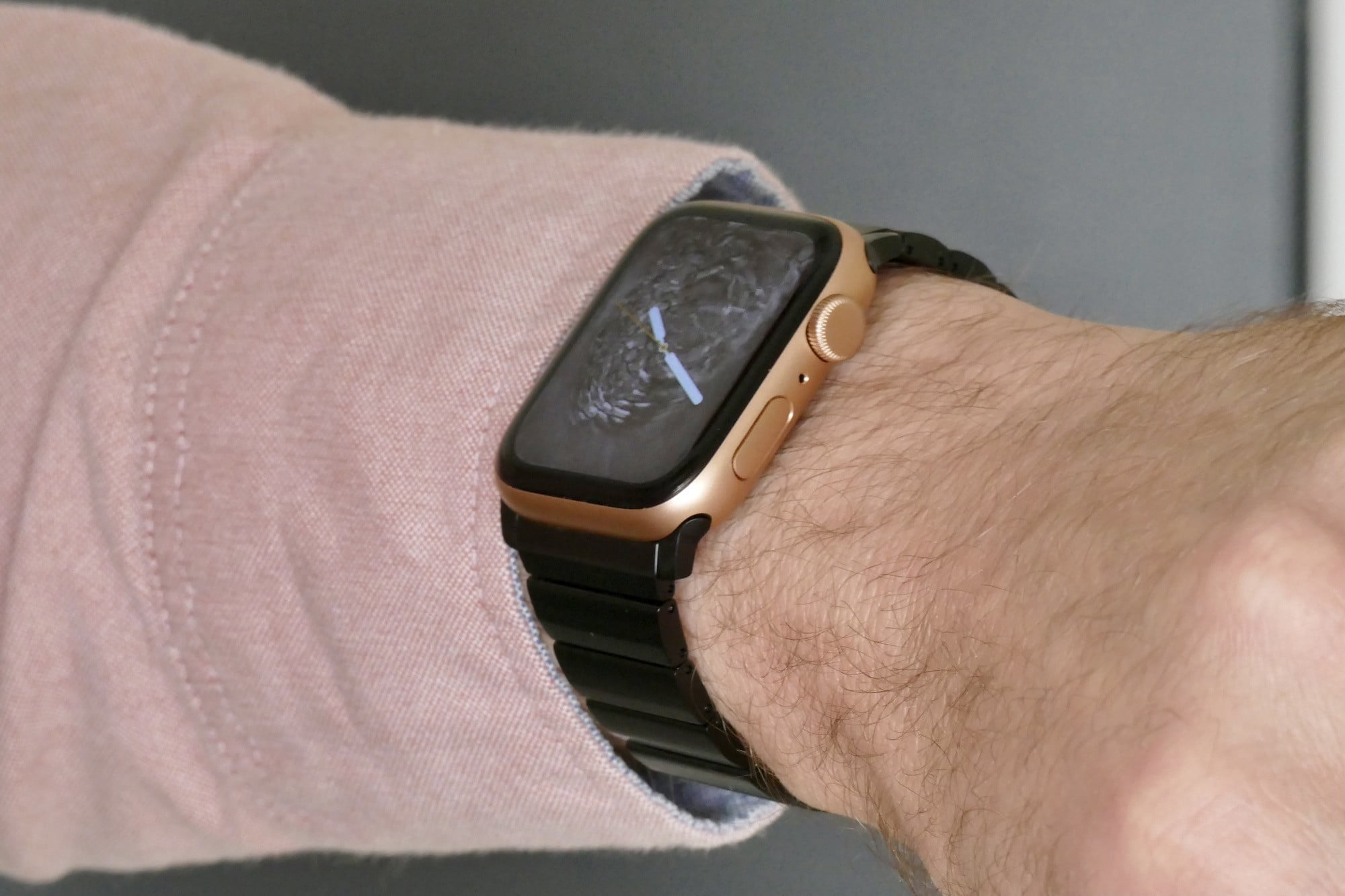nomad titanium steel band apple watch hands on photos price release date se gold wrist