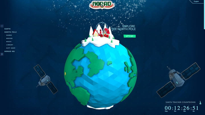 santa sets to work follow him with these trackers norad tracker