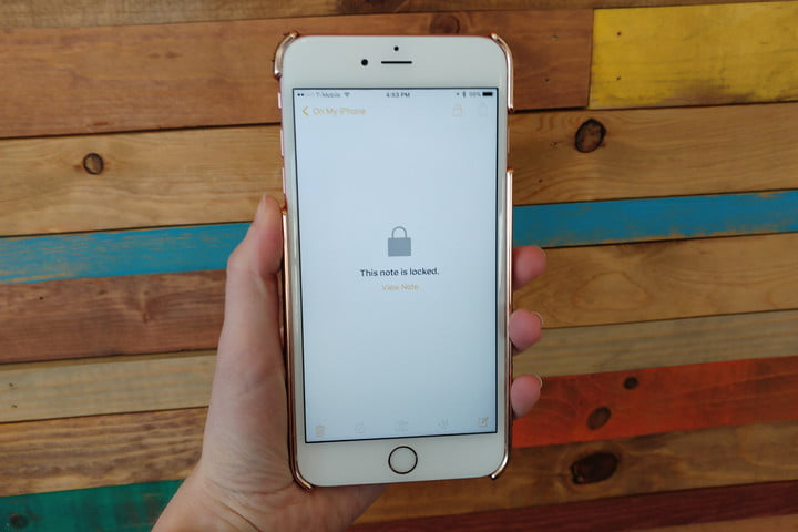 how to add passwords notes ios 9 3 app locked