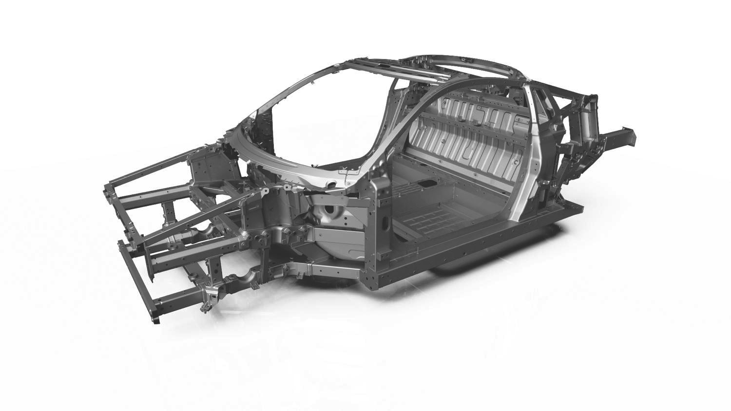 2016 Acura NSX Multi-material Space Frame