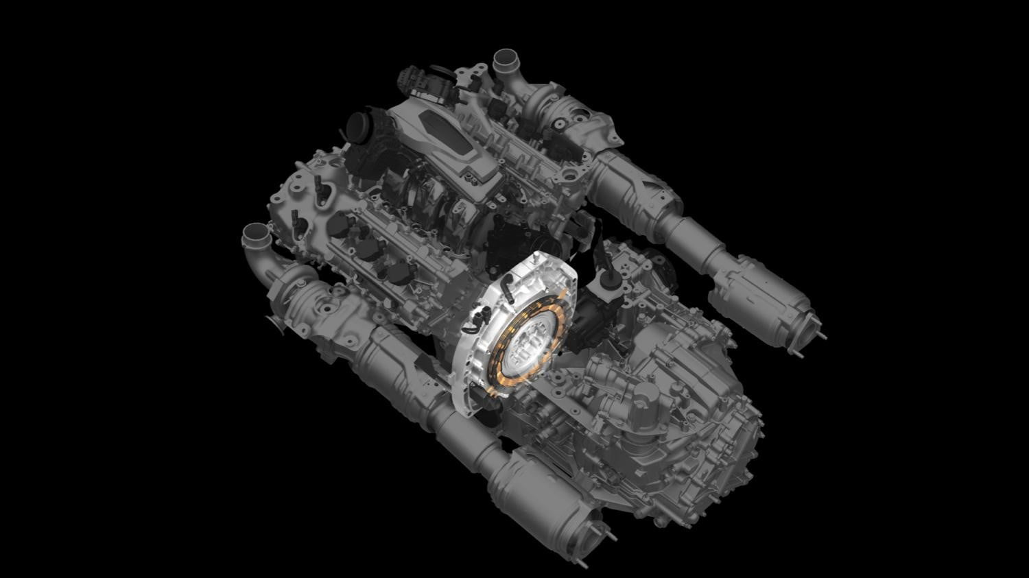 2016 Acura NSX Rear Direct-Drive Electric Motor