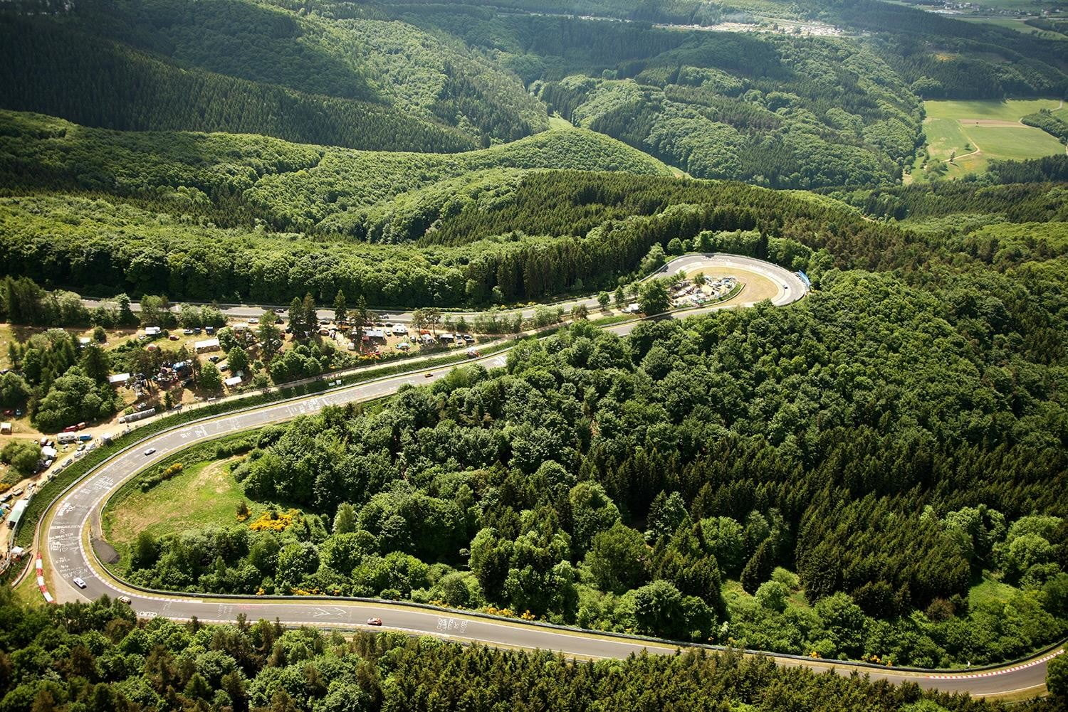 Nurburgring track overview