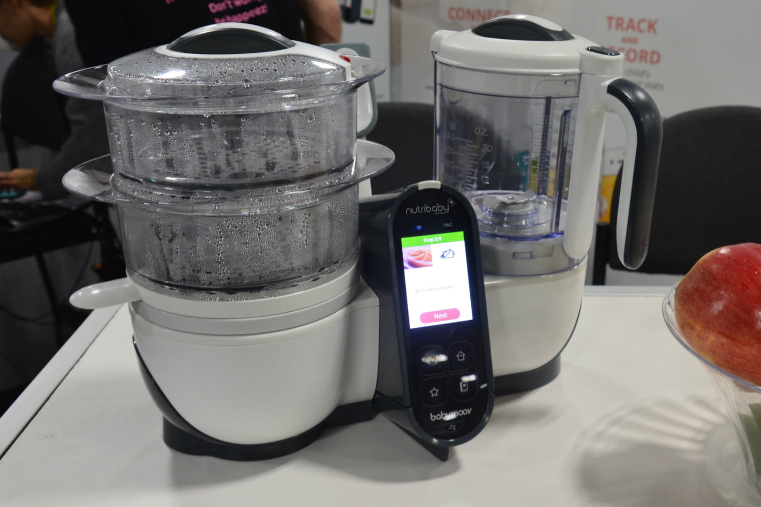 nutribaby connect smart baby food processor ces 2017