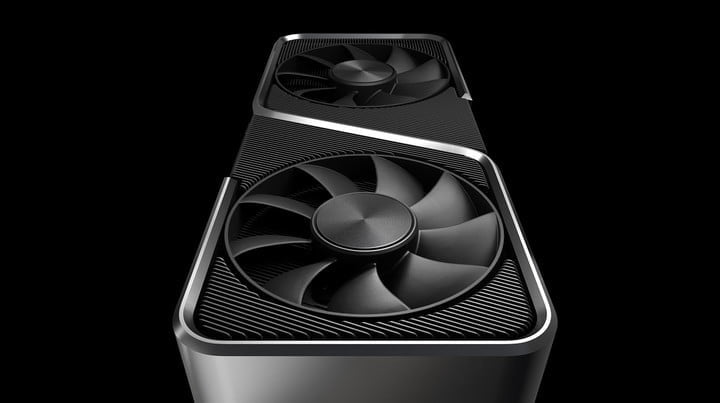 Nvidia RTX 3070 Founders Edition graphics card.