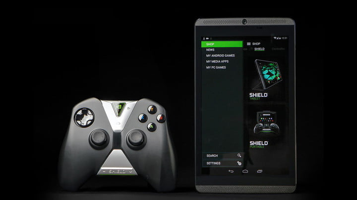 nvidia shield tablet update nougat controller feat