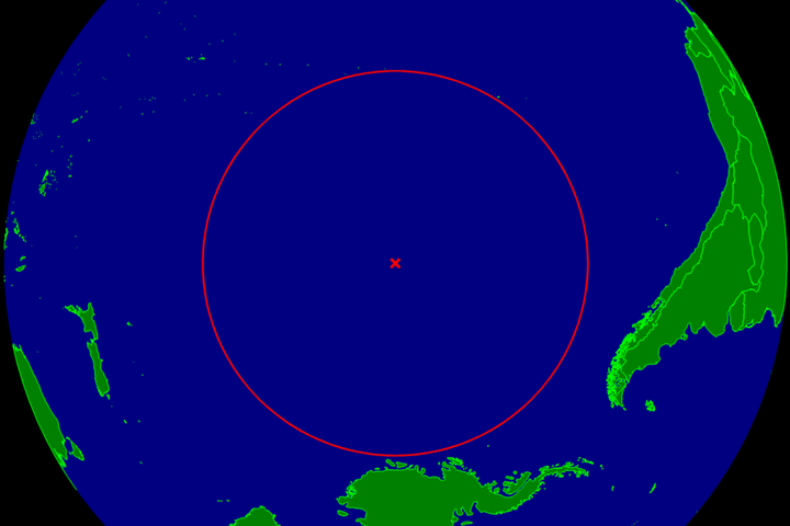spacecraft cemetery oceanic pole of inaccessibility