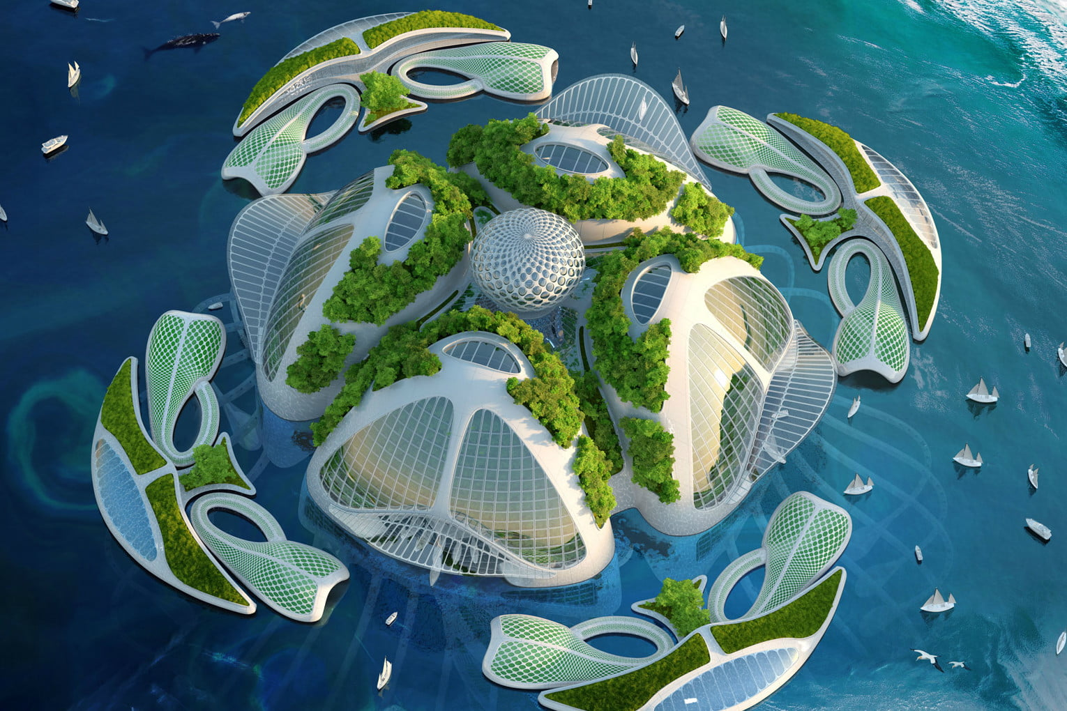 vincent callebaut imagines 3d oceanscrapers made of trash oceanscraper 3