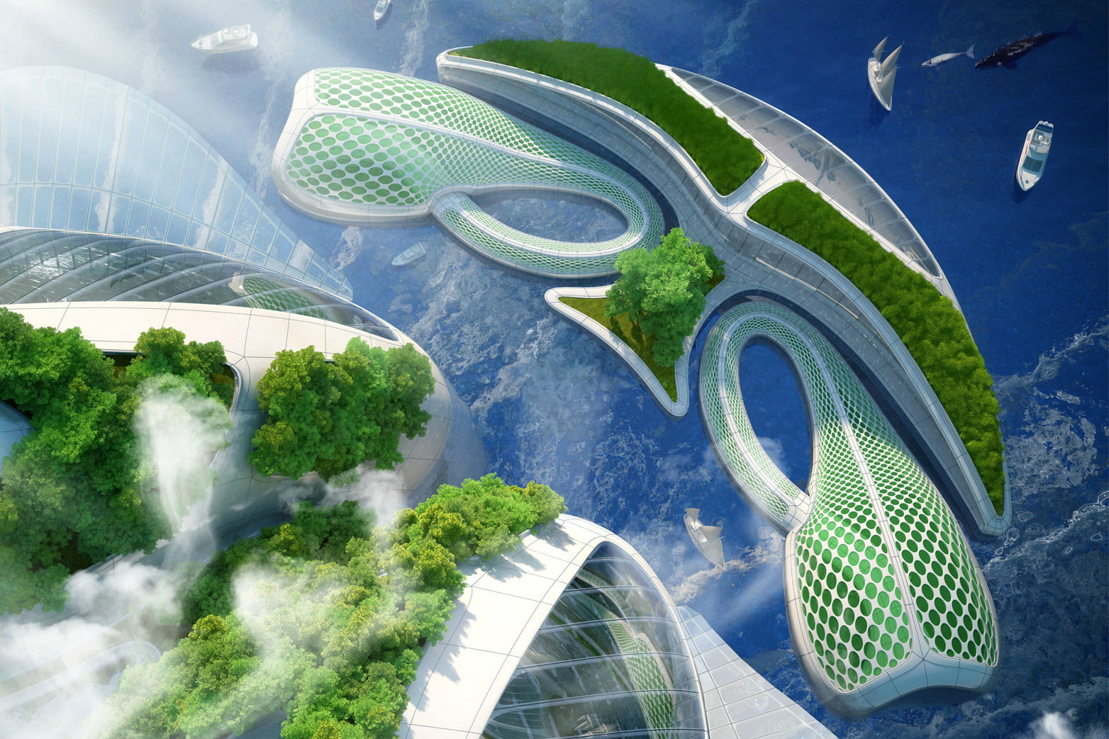vincent callebaut imagines 3d oceanscrapers made of trash oceanscraper 4