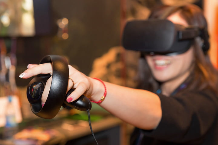 Oculus Touch Hands On