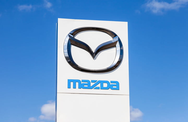 mazda cx7 suv recall steering official dealership sign of