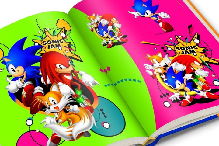 sonic the hedgehog celebrates 25 years with limited edition art book official sega