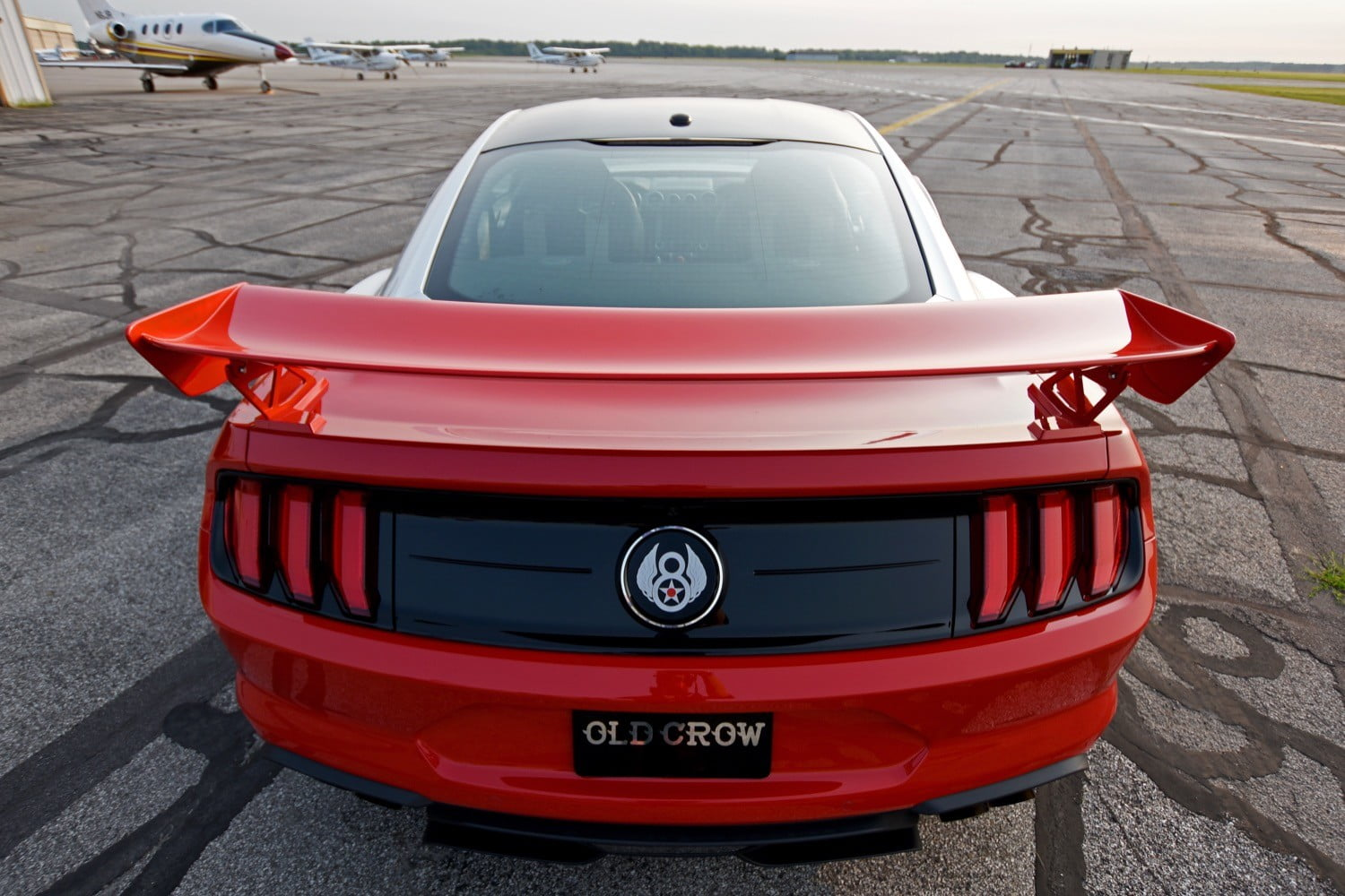 ford and roush old crow mustang gt