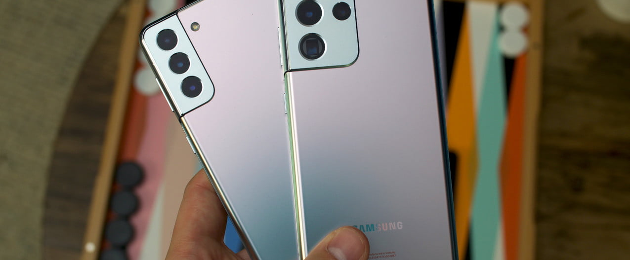 The Galaxy S21 and the Galaxy S21 Ultra