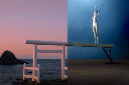 Check out Omega's extraordinarily creative Olympics ad