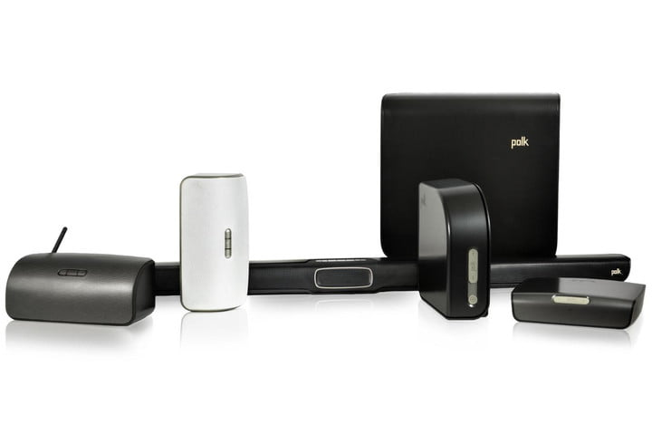 polk audios new multi room system leverages play fi nice speakers omni family white background