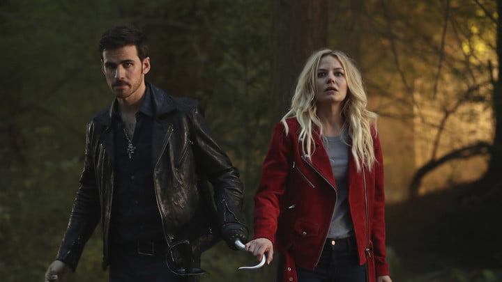 Colin O'Donoghue and Jennifer Morrison in the series Once Upon a Time.