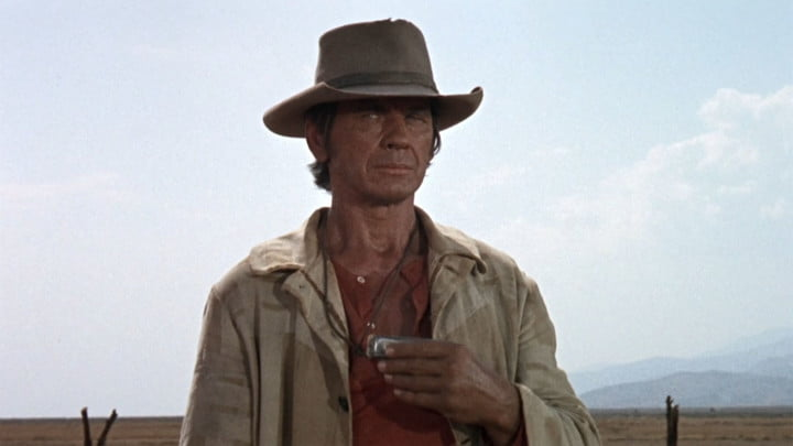 Charles Bronson in Once Upon a Time in the West.
