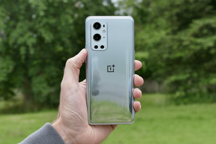 OnePlus 9 Pro shown from the back.