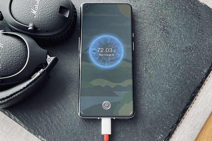 Warp Charge 65T on the OnePlus 9 Pro