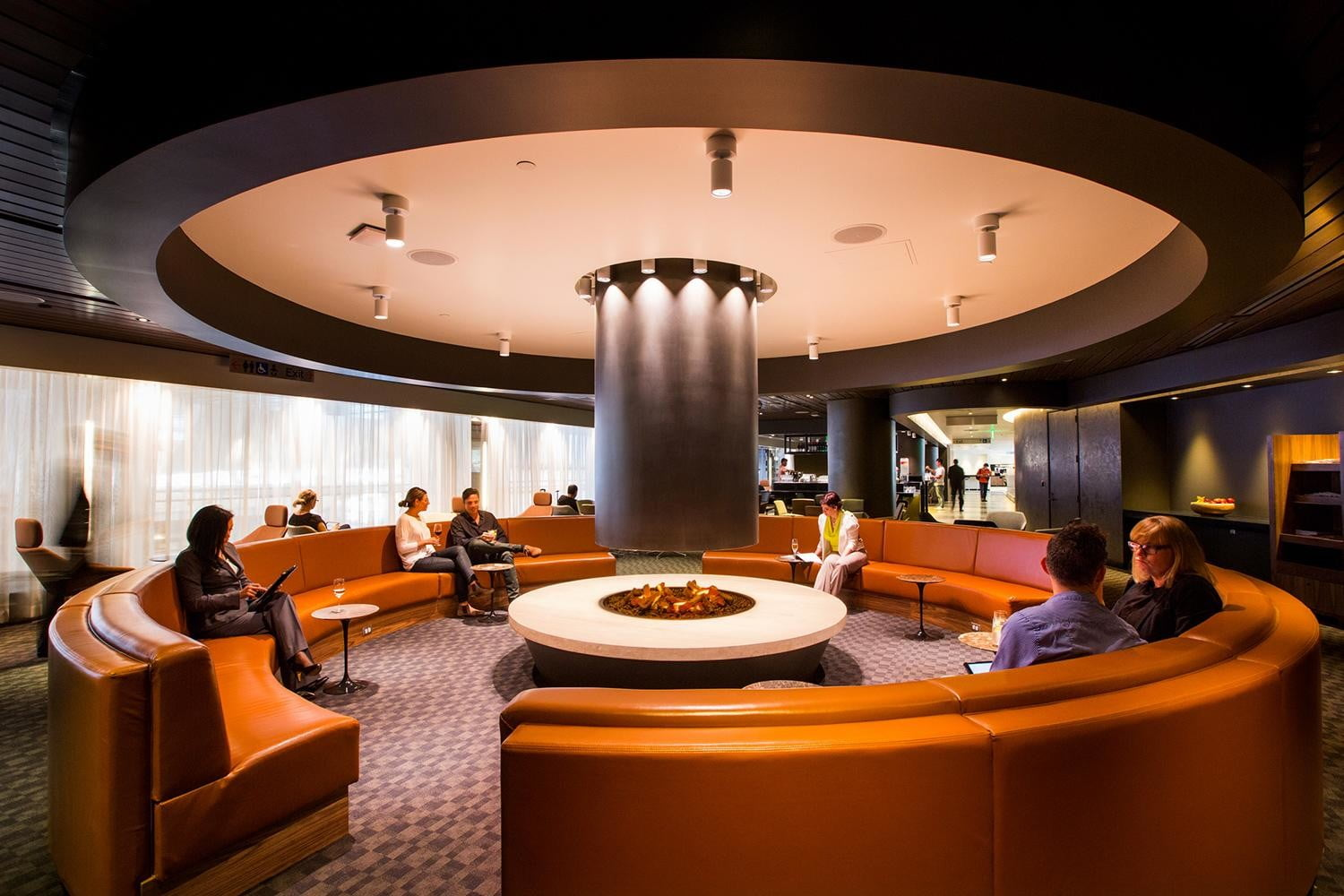 the worlds best airport lounges oneworld lounge lax