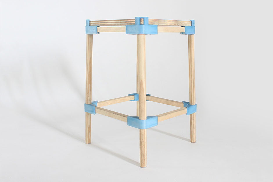 standard products furniture openplus research stool 005